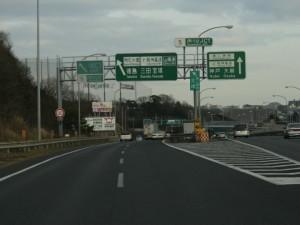 4) 伊川谷JCT 徳島(明石大橋)方面へ