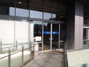 6) 三宮バスターミナル入口
